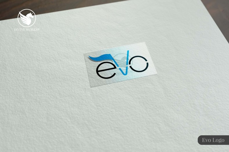 Evo Logo Design By Divine Works