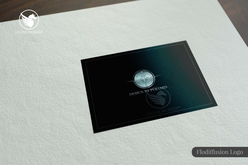Flo diffusion Logo Design By Divine Works