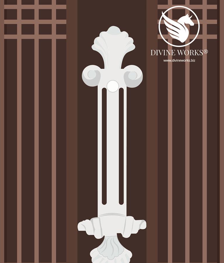 Gate Vector Illustration by Divine Works