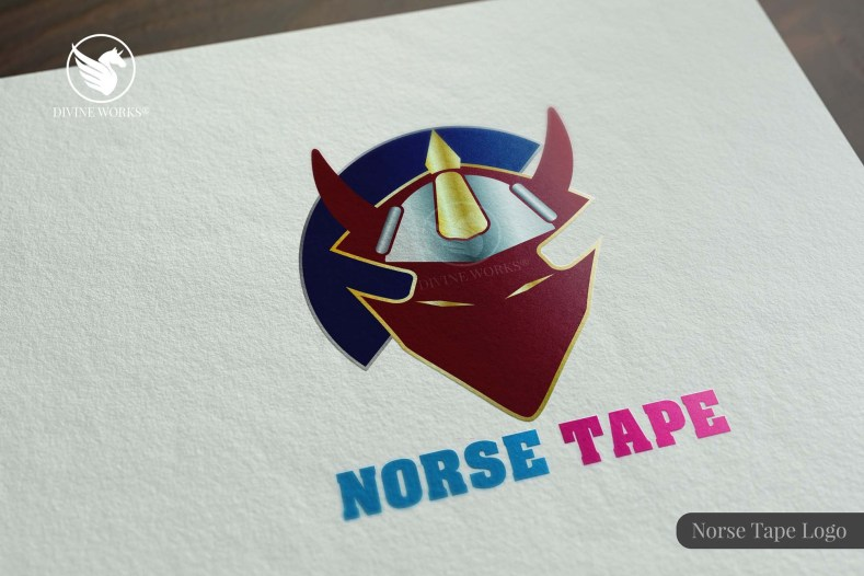 Norse Tape Logo Design By Divine Works