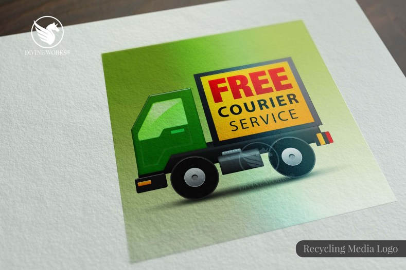 Recycling Logo Design By Divine Works