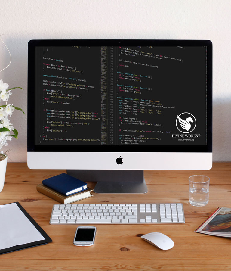 Free iMac Mockup by Divine Works