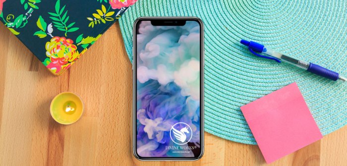 Free iPhone X Mockup by Divine Works