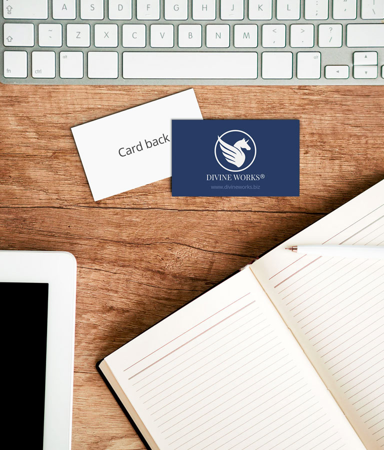 Free Business Cards Mockup by Divine Works