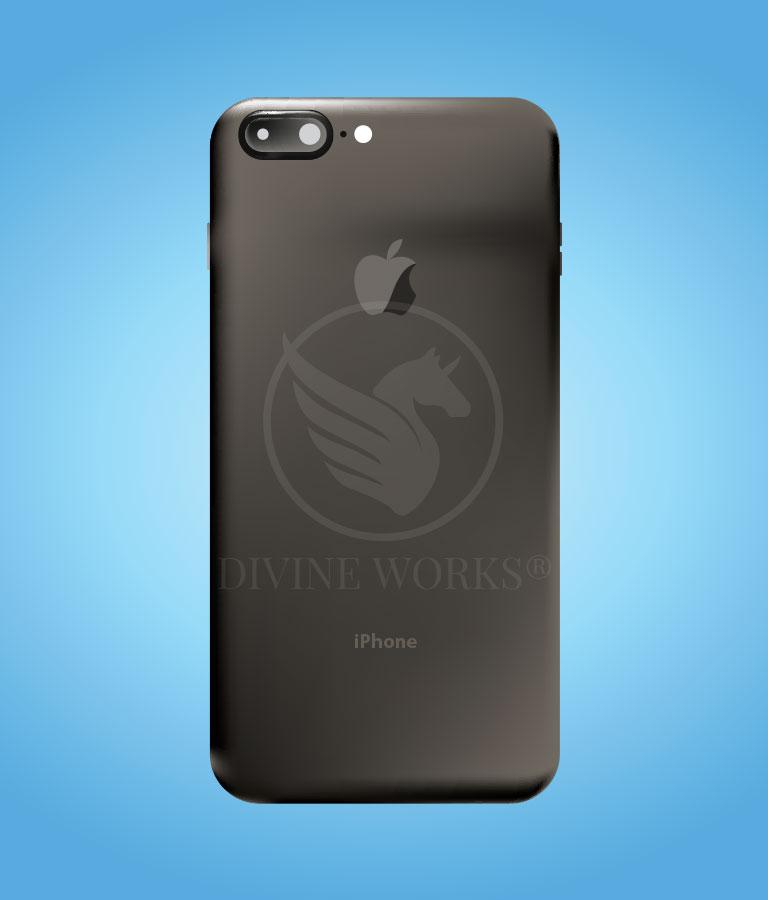 Free iPhone Back Side Adobe Illustrator Vector Illustration by Divine Works
