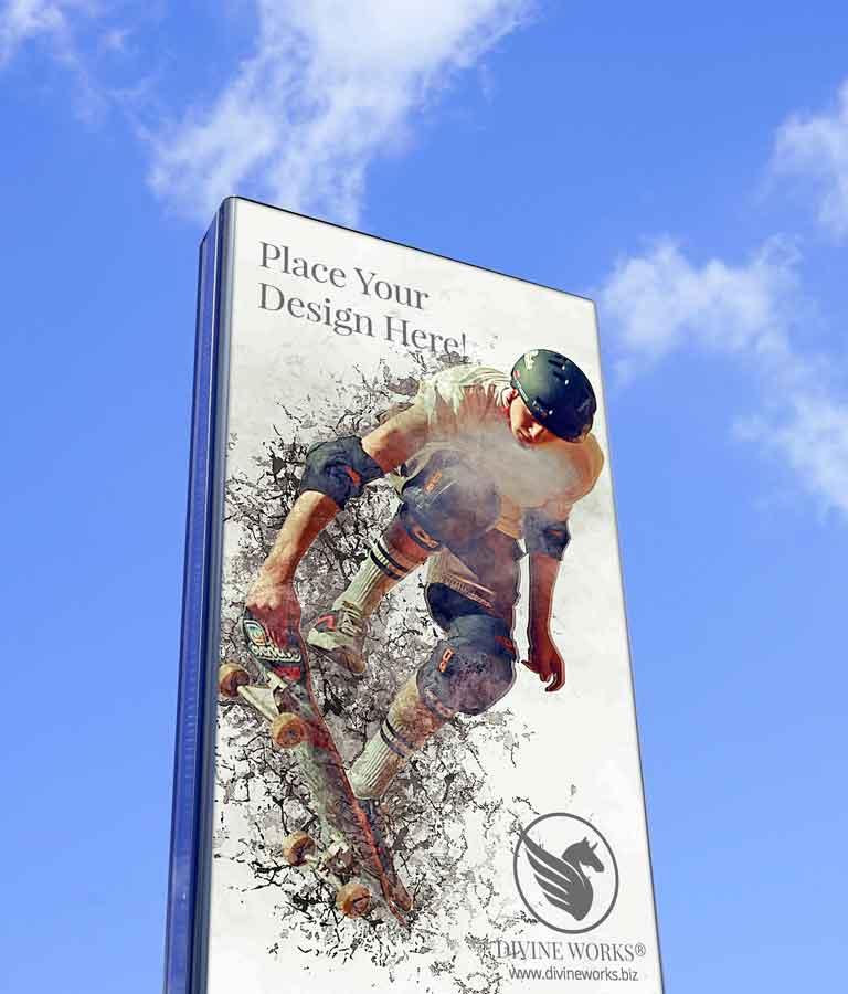 Free Flyer Banner Mockup by Divine Works