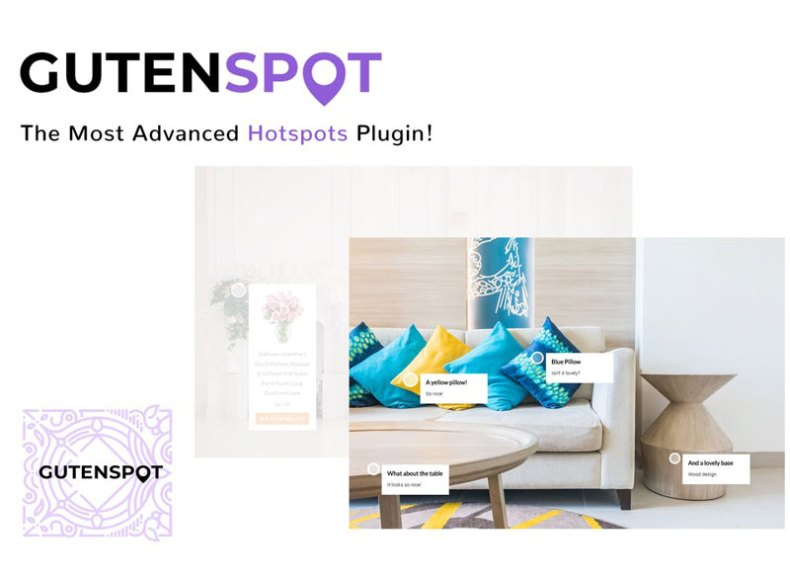 GutenSpot - Image Gallery Hotspots for Gutenberg