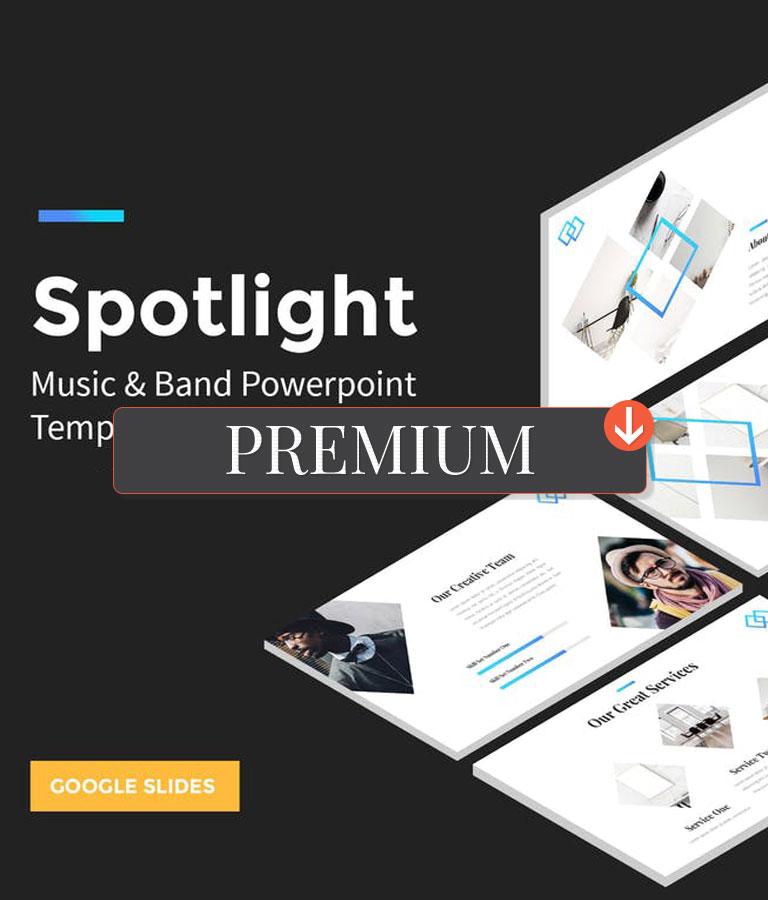 Spotlight – StartUp Google Slides Template