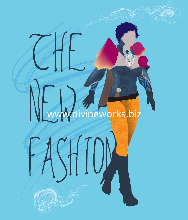 Download Free Fashion Girl Vector Illustration