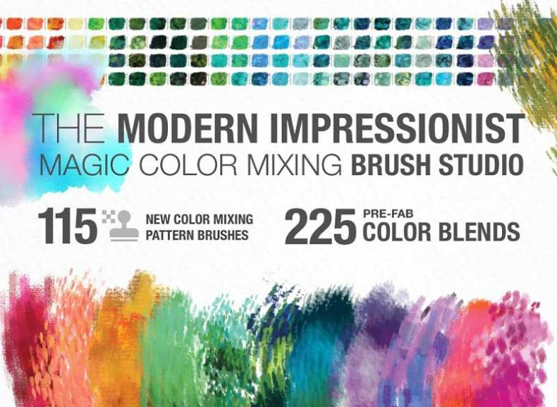 Modern Impressionist PS Brush Studio