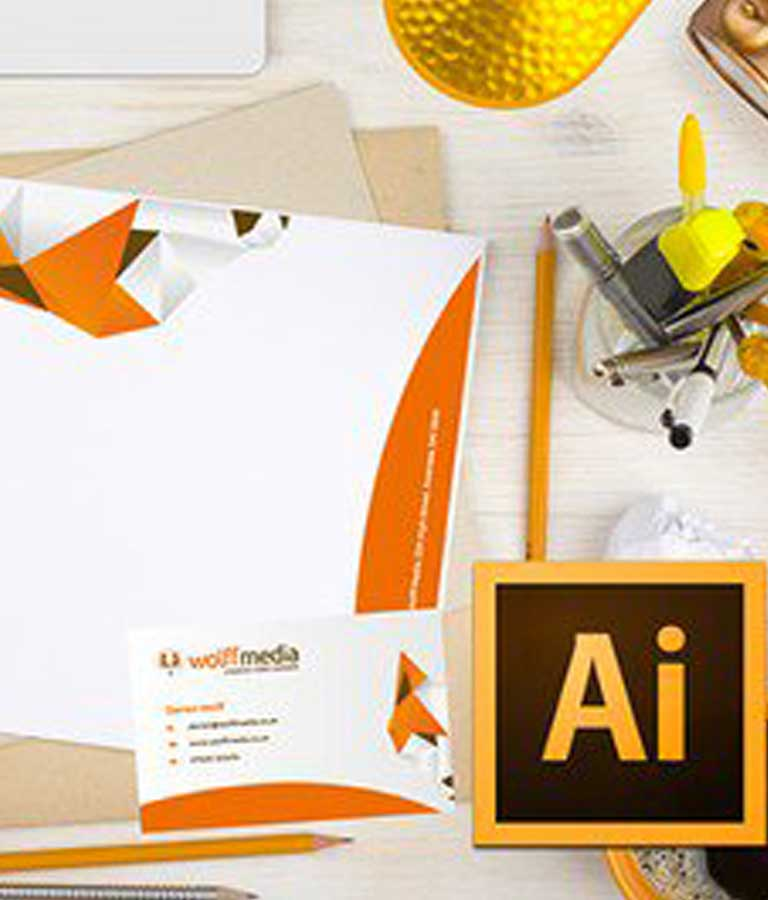 Business Card and Letterhead Design in Adobe Illustrator