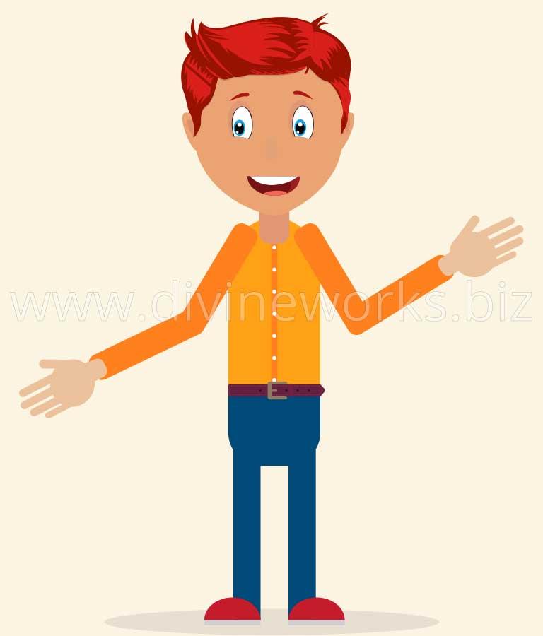 Free Vector Boy Character