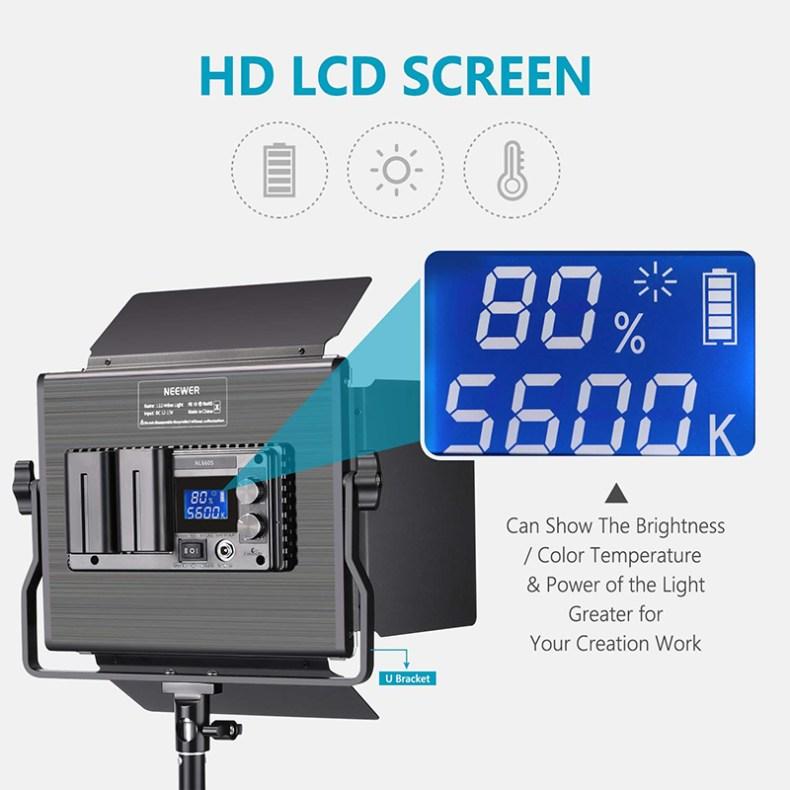 LED Video Light For YouTubers