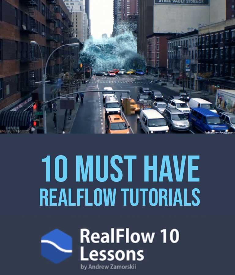 10 Best Realflow Tutorials