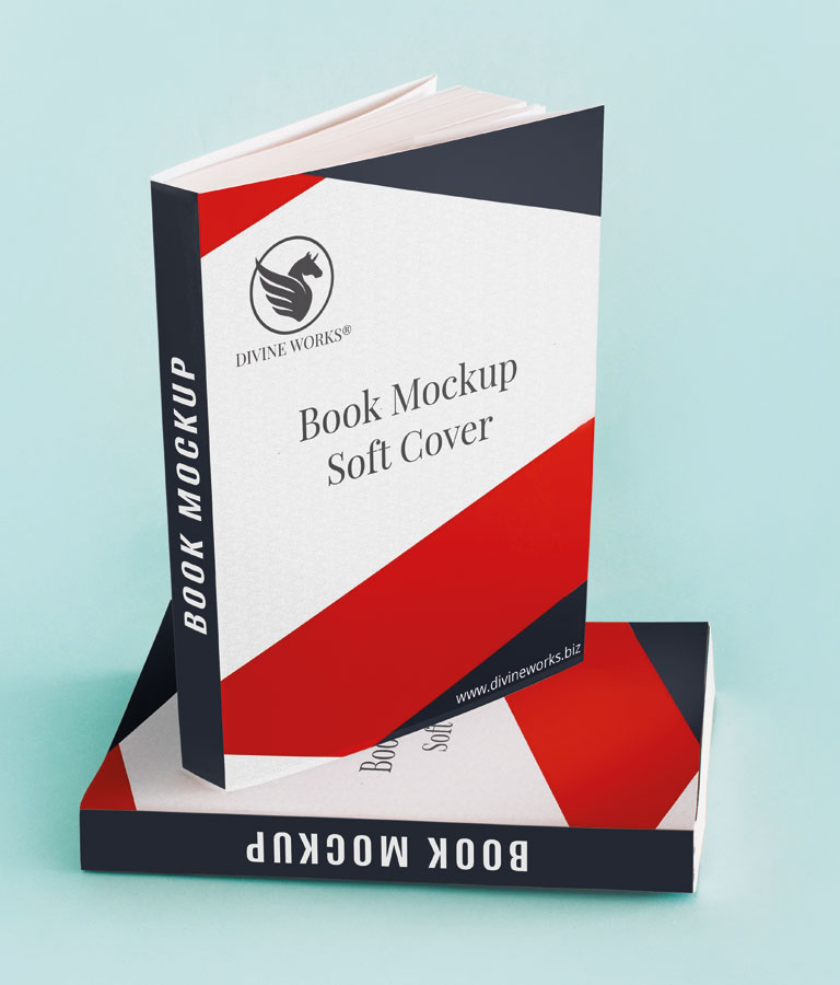 Download Free Book Covers Mockup PSD by Divine Works