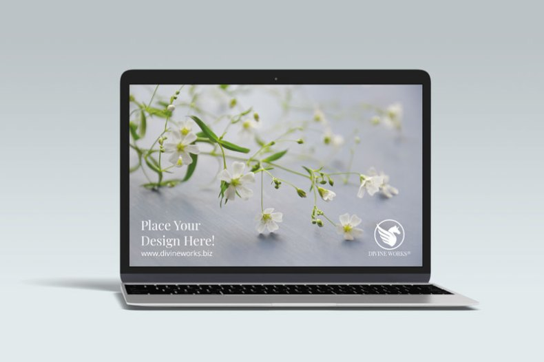 Download Free MacBook Pro Mockup PSD by Divine Works