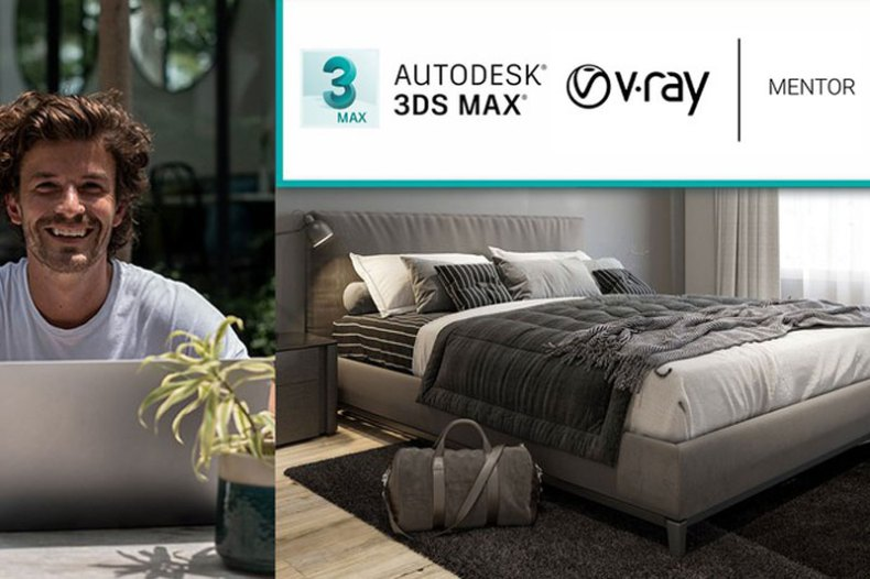 Interior 3D Rendering with 3ds Max + V-Ray The Quickest Way