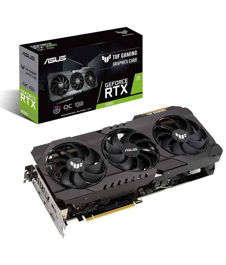 ASUS TUF Gaming NVIDIA GeForce RTX 3080 OC Edition Graphics Card