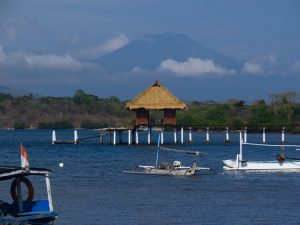 Дайвинг на Бали, Менджанган