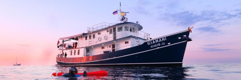 MV Giamani - Thailand Liveaboard