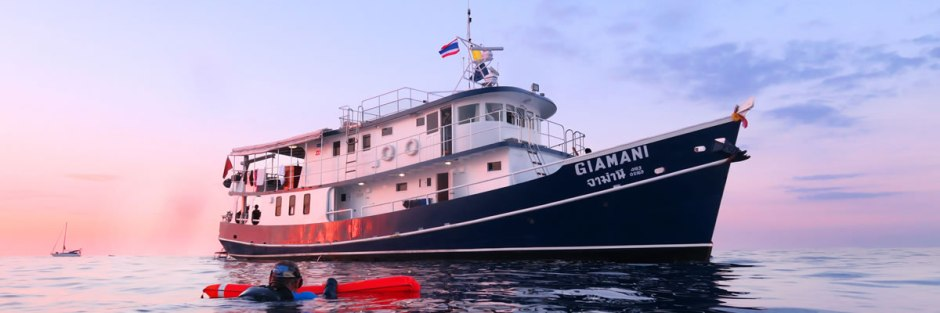MV Giamani - Thailand Liveaboards