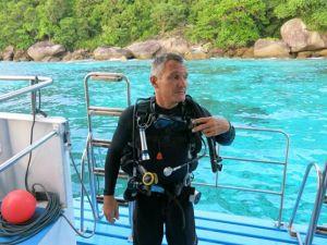 Colona Liveaboards Thailand Tourleader - Ricardo