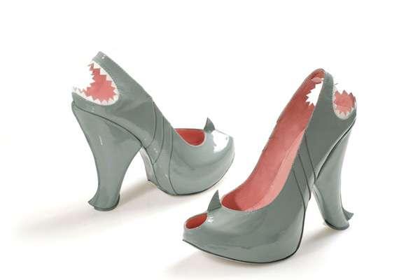 Da schlagt das Hai-Liebhaber-Herz höher: Shark Footwear von Kobi Levi