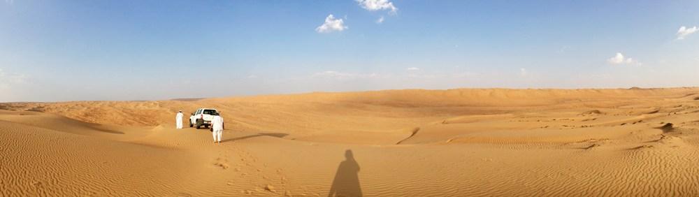 Dunebashing in Wahiba Sands (Oman)