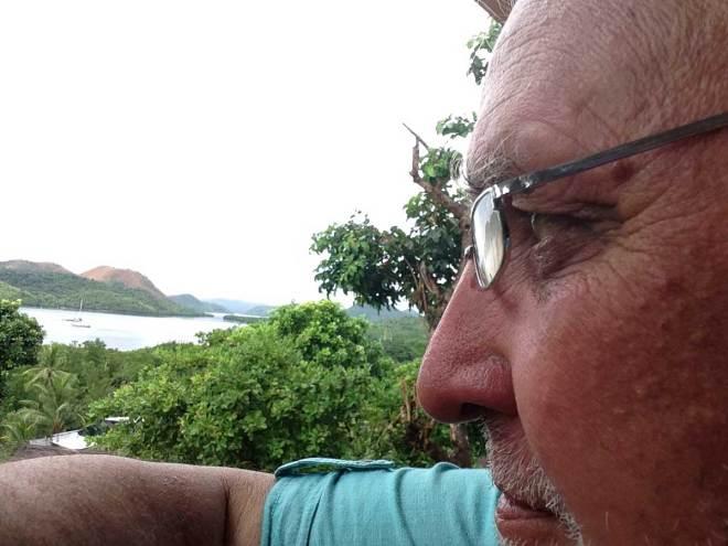 Gerhard auf Coron, Philippinen