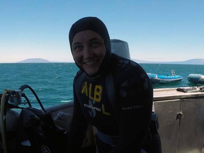 Let's go diving!
