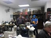 Der Chef von Homero Ortega persönlich in der Werkstatt