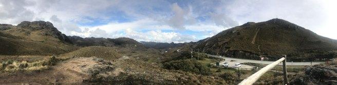 28.808 ha großer Nationalpark im Hochland von Ecuador