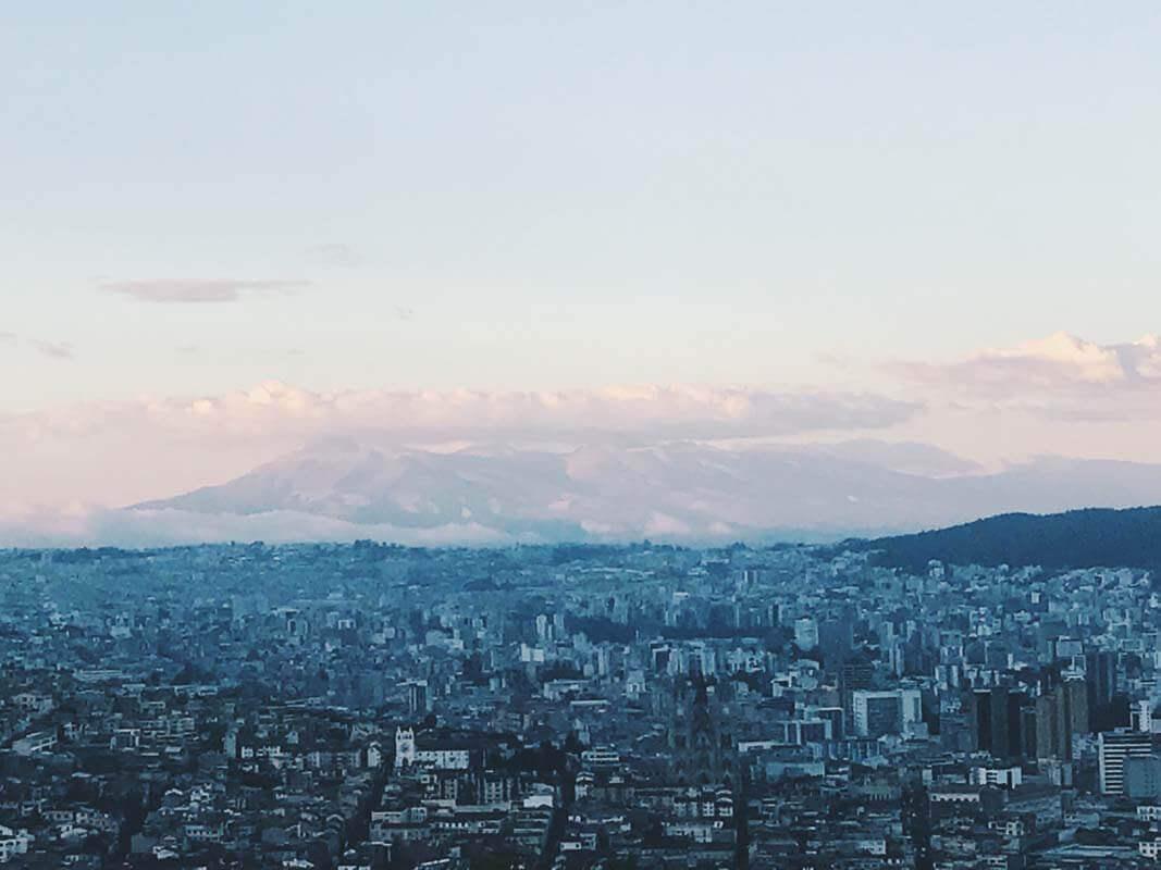 Rüber über das große Wasser - Ab nach Quito!