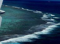 Anflug Aitutaki