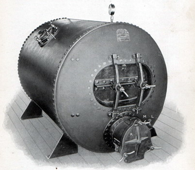 Diver Equipment  Recompression Chamber