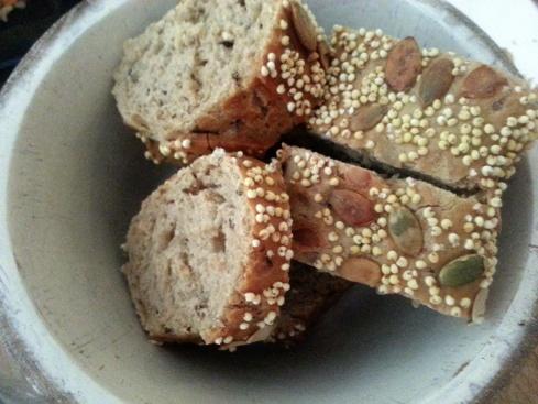 Pan de cereales variados