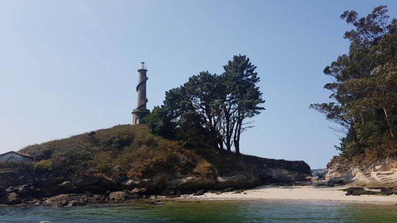 Faro Illa de Fango-Pontevedra