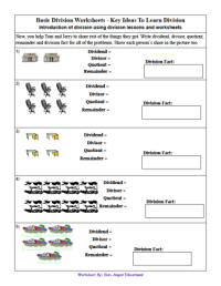 Basic Division Worksheets With Pictures | Search Results ...