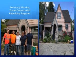 D9 Rebuilding Together with Turner Construction