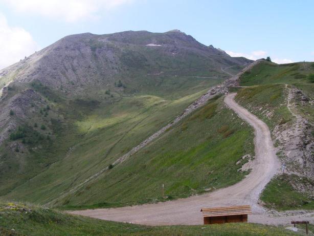 colle Bleiger - strada per Monte Genevris