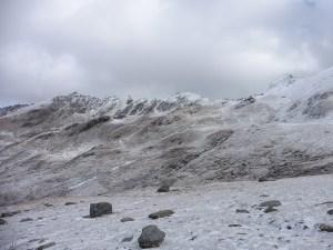Valle Lunga prima neve