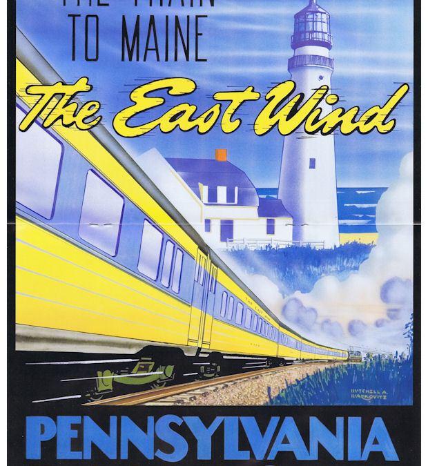 East Wind Train – PRR,NH,B&M,MEC [HO]