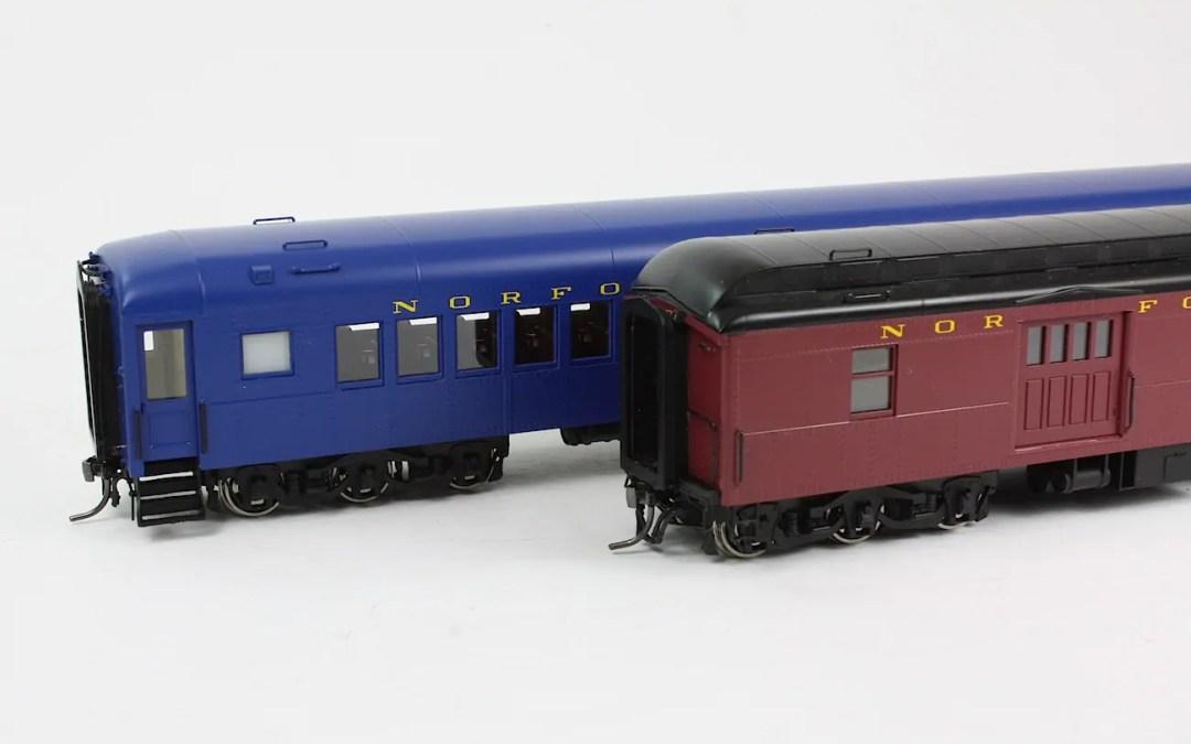Norfolk & Western Heavyweight Cars *UPDATE!*