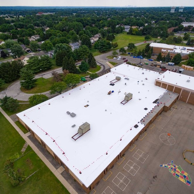 Educational Facility Roof