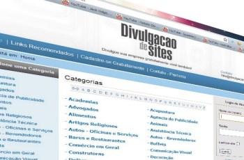Divulgação de Sites: novo portal de divulgação de anúncios grátis