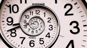 relógio fractal clock horas ponteiros tempo pointer