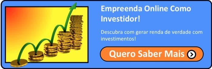 O que fazer para ganhar dinheiro na Internet com investimentos