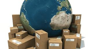 Dropshipping Planeta Terra Caixas de Papelão Pacotes