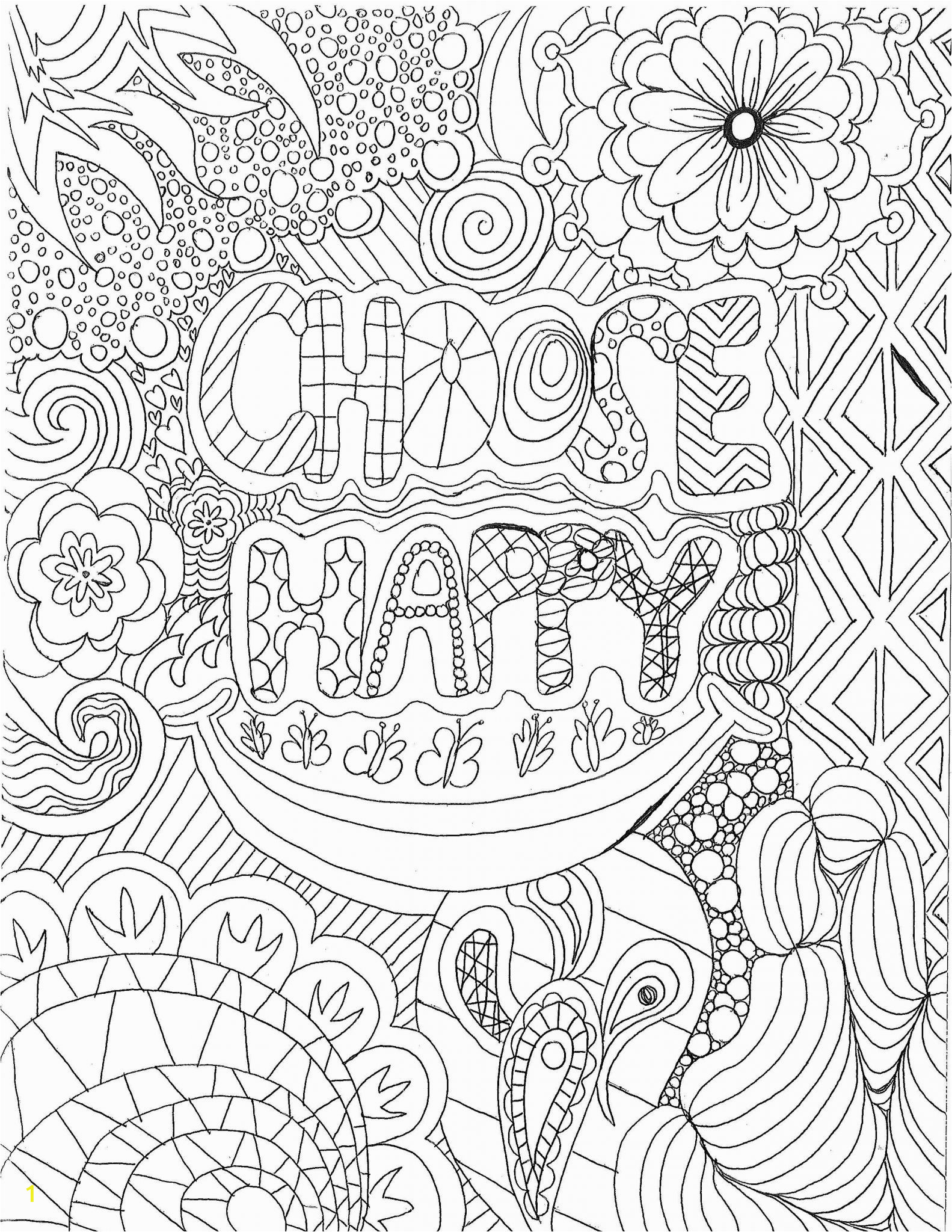 Coping Skills Coloring Pages