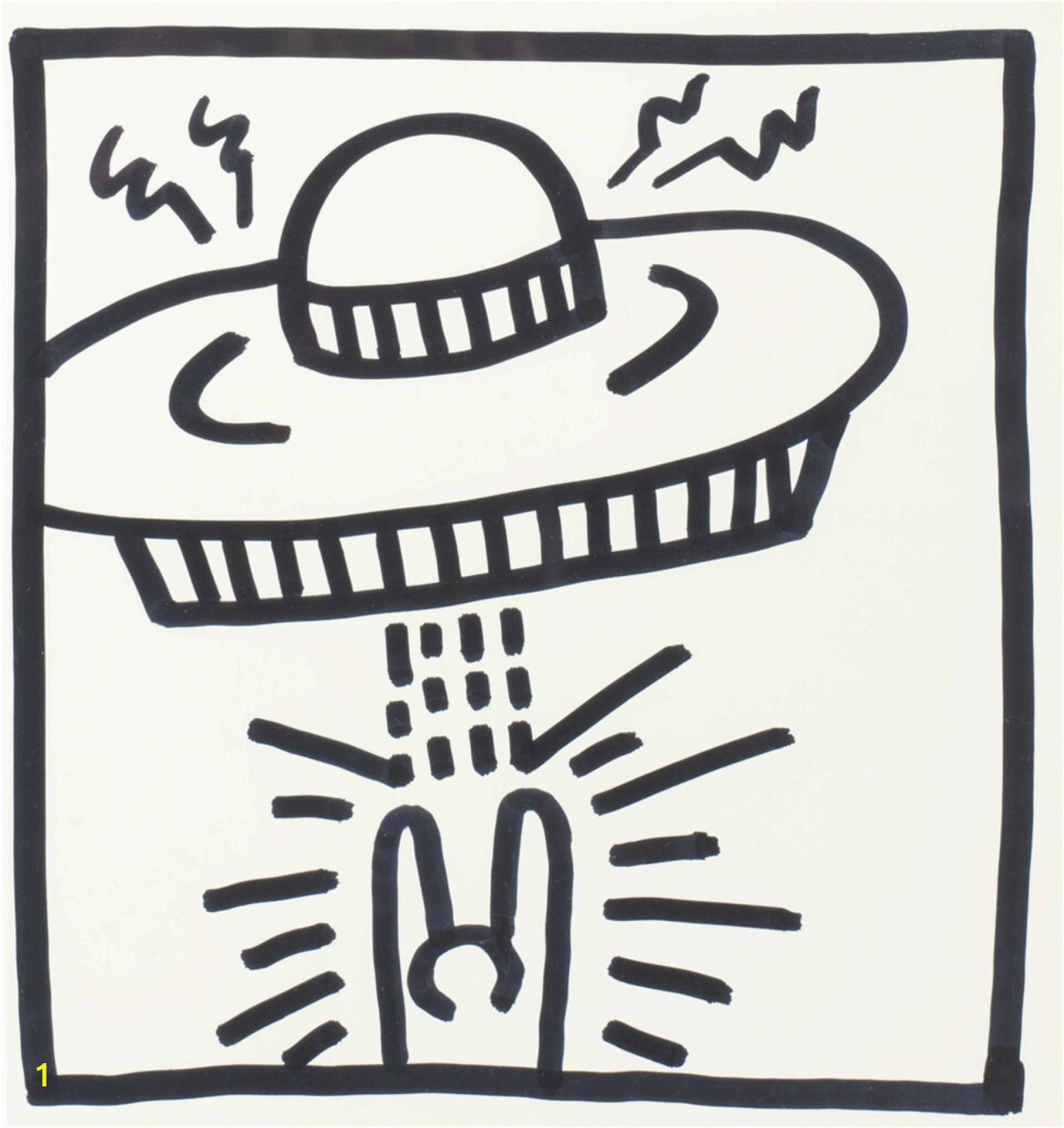 Keith Haring Coloring Pages
